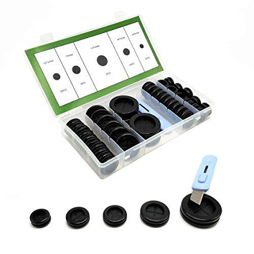 45 PCS Rubber Grommet 1-1/2