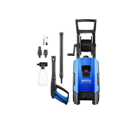 Nilfisk C135 bar- C-PG 135.1-8 PCDI X-TRA Hochdruckreiniger mit PowerGrip-Griff – für Haushalt, Außenbereich, Autowäsche und Gartenarbeiten – 1800-W-Motor, 230 V (blau)