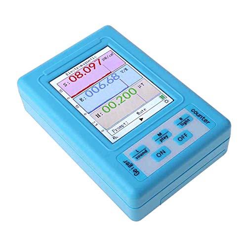 joyMerit BR-9A Portable Electromagnetic Field Radiation Detector Tester LCD Dosimeter Moniter Geiger Counter