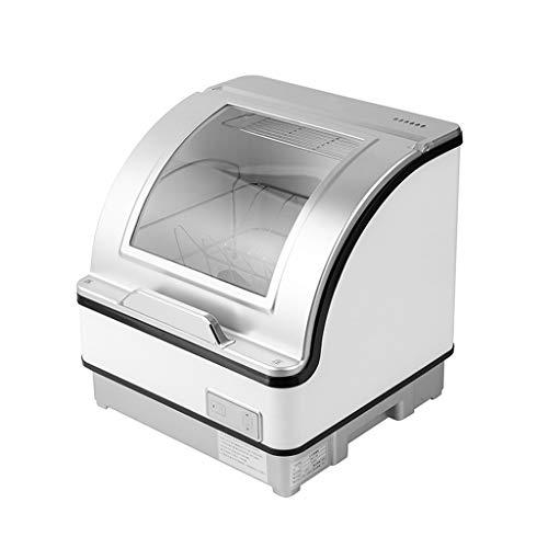 Tischgeschirrspüler, Automatische Hochtemperatur-Trocknungsgeschirrspüler, Kompaktes Und Kleines Design, Energieeffizientes Design, Geringer Geräuschpegel [Energieklasse A]