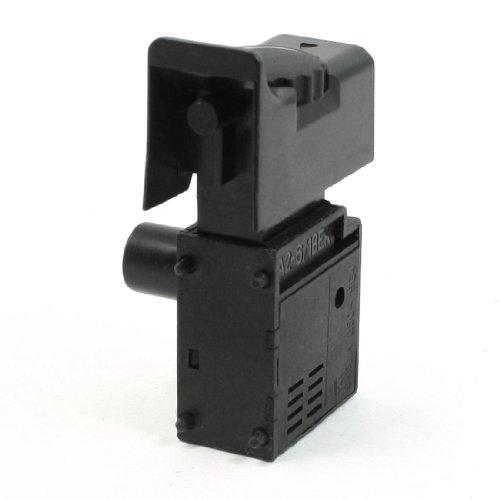 Sourcingmap - Interruptor de Control de Bloqueo de gatillo de Velocidad 250 Vac 6a para Ventilador eléctrico