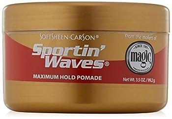 SoftSheen-Carson Sportin  Waves Maximum Hold Pomade oz 3.5 Ounce