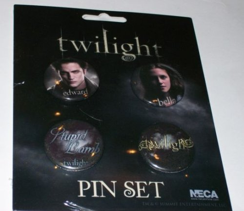 Twilight Buttons Combo Pack Set 1 Stupid Lamb Twilight