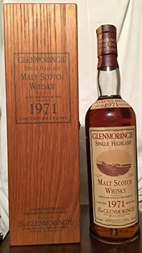 Glenmorangie 1971 Oak Cask Limited Bottling 150th Anniversary con caja de madera 70cl
