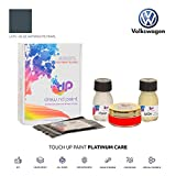 DrawndPaint for/Volkswagen Lupo 3L Fsi/Blue Anthracite Pearl - LC7V / Touch-UP Sistema DE Pintura Coincidencia EXACTA/Platinum Care