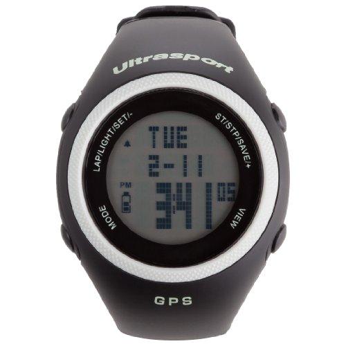 Ultrasport GPS Pulscomputer NavRun Basic 200 Set mit zusätzl. Datenkabel
