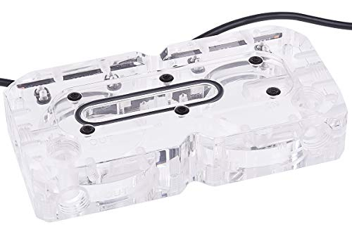 Alphacool 13311 Eisdecke DCC Dual plexi Top WaterCooling Pompe