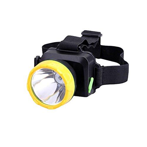 Lampe frontale colorée créative pour le camping, la pêche, la randonnée, le cyclisme, 5 W