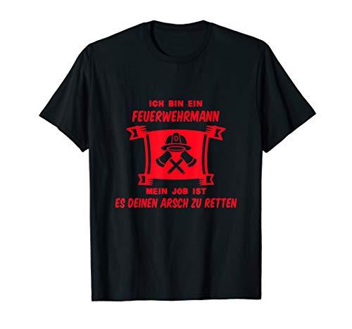 Feuerwehrmann |112 | Lebensretter | Hilfe in Not T-Shirt