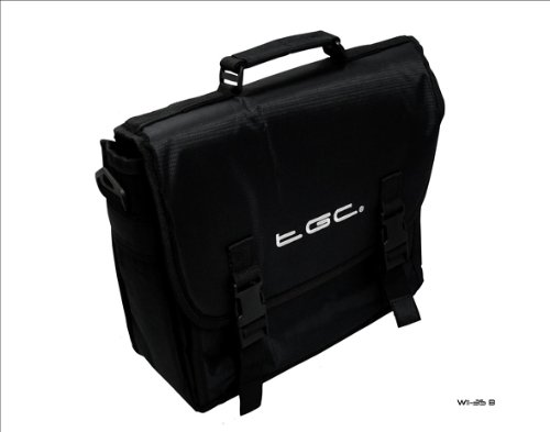 Black Messenger Style Carry Case Bag for Amazon Kindle Touch 3G Tablet &...
