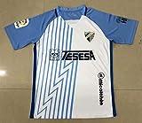 ADI Malaga Jersey Camiseta DE FÚTBOL 2020-2021 White&Blue Color (L)