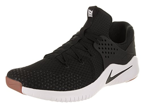 Nike Free TR 8 Mens Running Trainers AH9395 Sneakers Shoes (UK 8 US 9 EU 42.5, Black White Black 002)