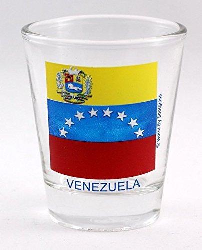 Schnapsglas mit Venezuela-Flagge
