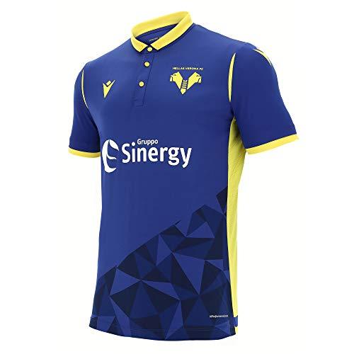 Hellas Verona FC 2020/2021 Trikot Gara Home M/C Herren, Blau, XL
