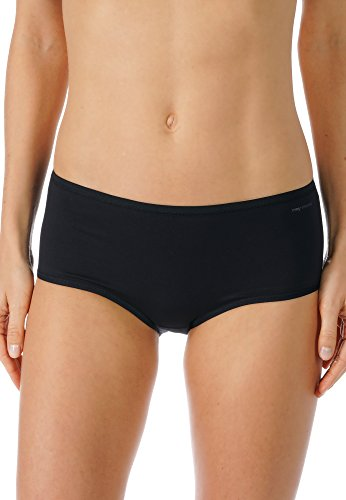 Mey Basics Serie Organic Damen Panties Schwarz 38