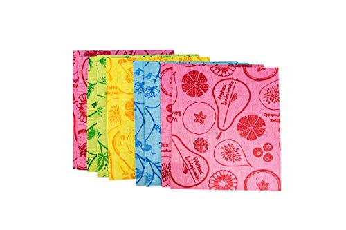 The Original 10-Pack Wettex Swedish Superabsorbent Dishcloth