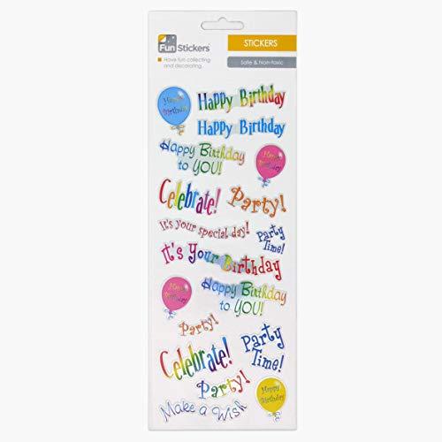 Fun Stickers Happy Birthday 730