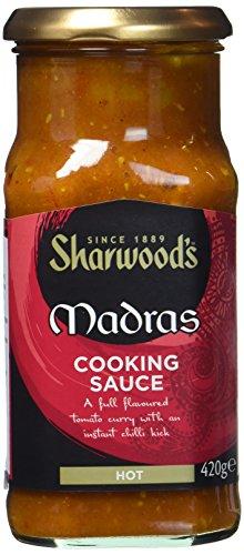 Sharwood`s Madras Kochsauce, 3er Pack (3 x 420 g)