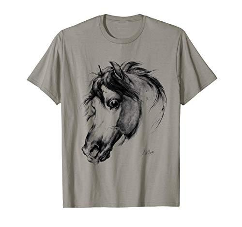 Amantes de los caballos Amantes de la equitación de época Camiseta
