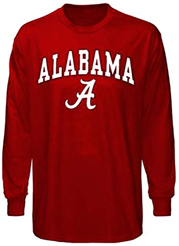 Alabama Crimson Tide Shirt Long Sleeve T-Shirt (X-Large)