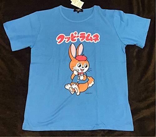 クッピー ラムネ 半袖 tシャツ Lサイズ カクダイ 駄菓子 企業 昭和 レトロ