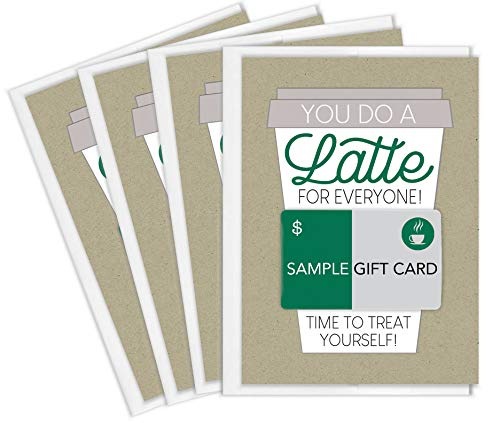 Tiny Expressions Thanks a Latte Coffee Gift Card Holders