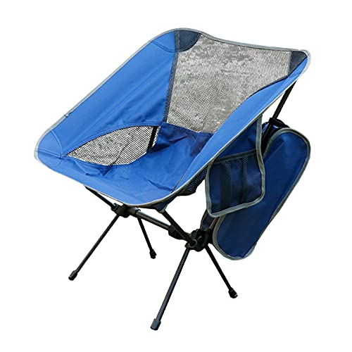 yin Silla de Camping Plegable, Silla de Camping Outwell Relax, Silla de Camping portátil, Mochila Ligera Plegable Sillas para Senderismo en la Playa Silla de Senderismo