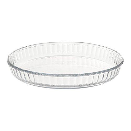 Stampo per crostata in vetro borosilicato, da 25X3,5 cm Trasparente
