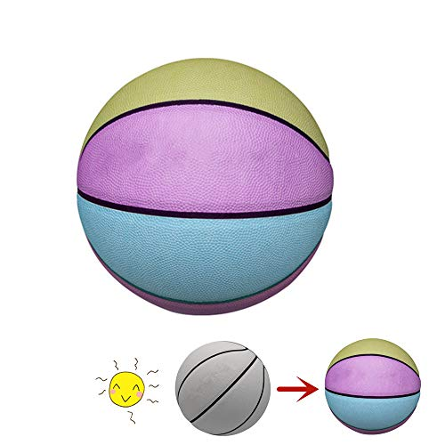 Review Of FEIDA Unique Discoloration Basketball Sunlight Changeable Color Basketball Indoor & Outdoo...