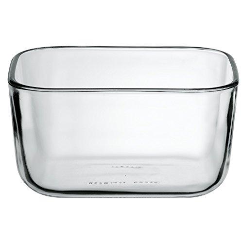 WMF Top Serve Ersatzglas rechteckig 13 x 10 x 6,5 cm, Ersatzteil für Frischhaltedose, Aufbewahrungsbox Glas, Aufschnittbox Glas
