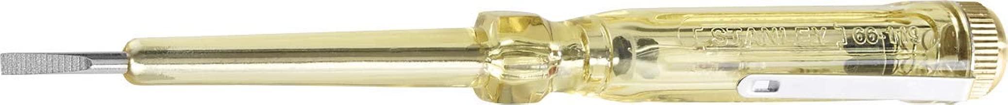 Stanley 66-119, Chave Fenda para Teste de Corrente, Amarelo/Preto