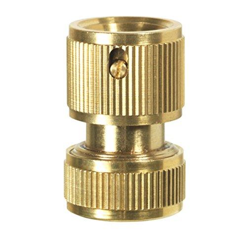 avec 2/douilles 1 AG 2/colliers en acier inoxydable et 2/m/ètres Loctite filetage fil 33,3/mm Agora-Tec /® Tuyau Kit de raccordement en laiton pour tuyau 1/ 25,4/mm