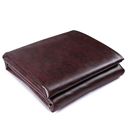 Boshen 7/8/9FT Heavy Duty Fitted Leatherette Billiard Pool Table Cover