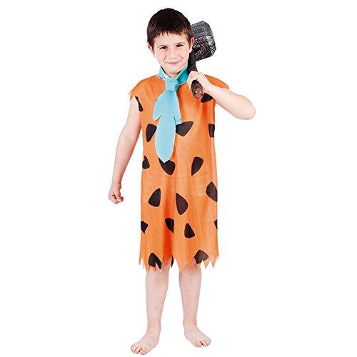 Fyasa 705972-T03 - Disfraz para niño cueva de 10 a 12 años, multicolor, mediano