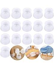Ronde Stoelpoot Doppen Beschermers, Set van 36 Siliconen Stoelpootdoppen, Meubelbeschermer, Geschikt voor Diameter 1,1-1,69 duim