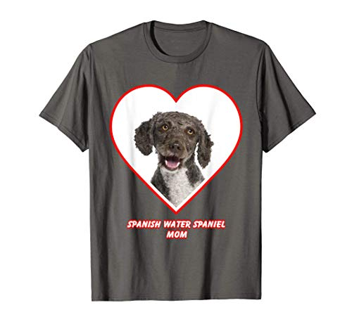 Spanish Water Spaniel Dog Mom Camiseta
