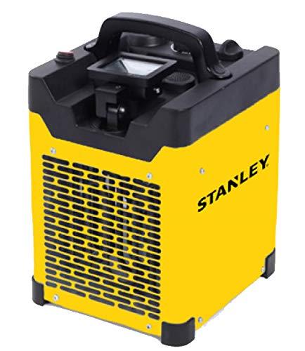 Calefactor eléctrico industrial – gama Indus – 3000 W – Proyector LED orientable