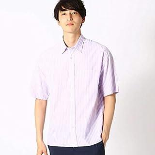 コムサイズムメンズ(COMME CA ISM) シニョール ストライプ 半袖シャツ