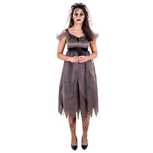 Womens Halloween kostuums volwassenen non heks Skeleton bruid outfits L Zombie Bride