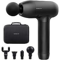 Siwenlyfit Electric Quiet Portable Massage Gun with Speed Adjustable (Black)