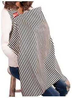 エスメラルダ 授乳カバー ブラックストライプS