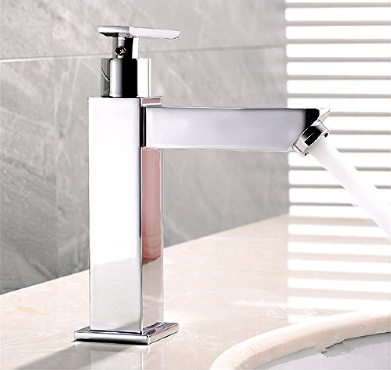 NewBorn Faucet Küche oder Badezimmer Waschbecken Mischbatterie Das Kupfer kalt Wasser Leitungswasser Waschbecken Wasserhahn Quadrat Runde Zwei verfügt über Eine Runde Tippen.