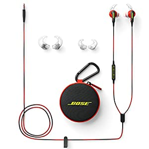 Bose SoundSport In-Ear Headphones, 3.5mm Connector for Apple Devices - Power Red