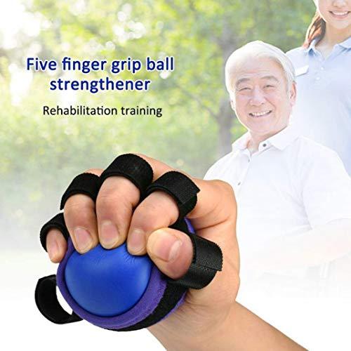 YSHTAN - Pelota para ejercitar las manos y entrenar con los dedos, color azul