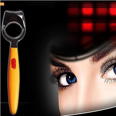 GAG-Faux-cils@Créative ABS jaune lumineux femmes cils bigoudis professionnel Curling Clips faux cils faux outils pinces beauté maquillage