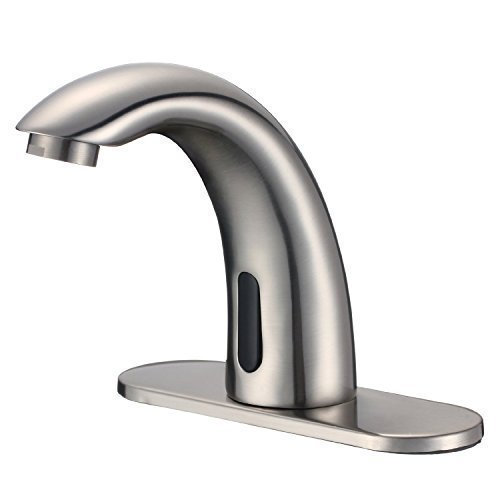 Yodel Automatic Touchless Sensor Tap Hot Cold Mixer Faucet,...