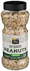 365 Everyday Value, Peanuts, Dry Roasted, 16 oz