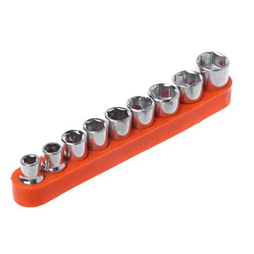 Yintiod Inbussleutel, 9-delige set schroefsleutels zeskant DIY Fix reparatie handgereedschap 5-13 mm socket adapter set Home Auto fiets