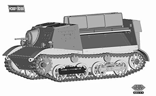 Hobby Boss – 83848 – Modèle Kit Soviet T 20 Armored Tractor koms omolets 1940