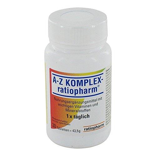 A-Z Komplex-ratiopharm Tabletten, 30 St. Tabletten